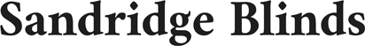 Sandridge Blinds Hull Logo